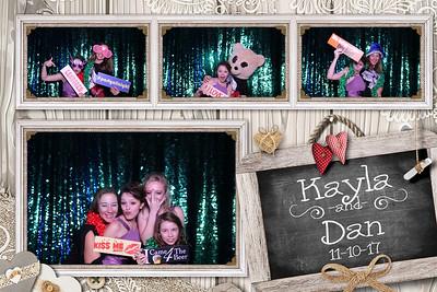 Kayla and Dan's Wedding 11-10-17