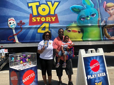 20190608 Toy Story 4  Traveling  Parking Lot Carnival ...Walmart,Bloomingdale