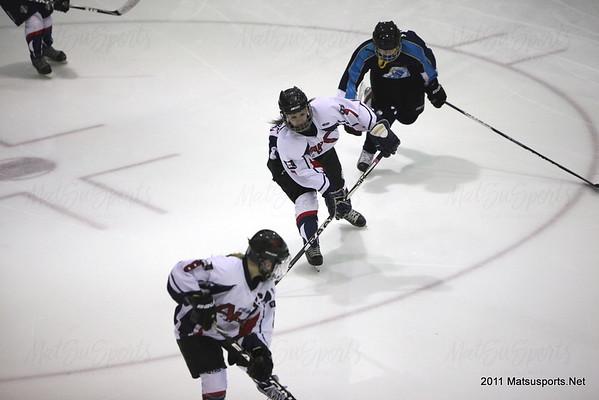 Team Alaska Vs. Junior Avalanche 12-22-2011