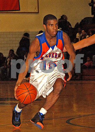 Malverne HS Boys Basketball vs Locust Valley 2-02-2007