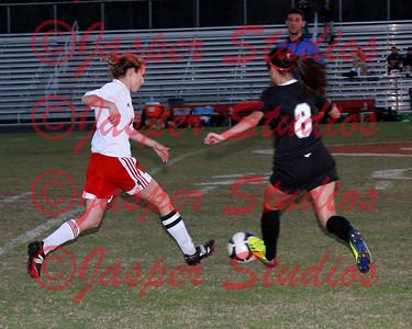 HCHS Varsity Girls Soccer 11/19/2013