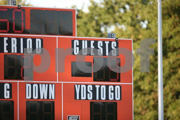 Junior Varsity-Oak Grove vs Harrisonville 9-16-08