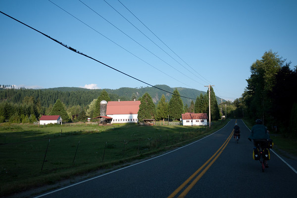 Mountain Loop Highway and Suiattle, August 2011