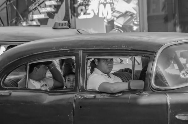 The cars in Cuba