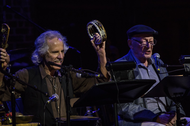 John Densmore and Alan Mandell at the Tribute to Sam Shepard 2017 LA