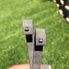 .54ctw Asscher Cut Diamond Bezel Stud Earrings, Platinum 5