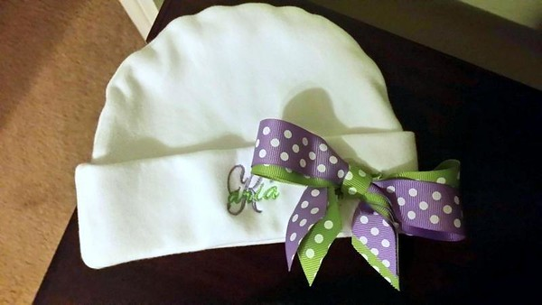 2014 03 Layette made for Aria
