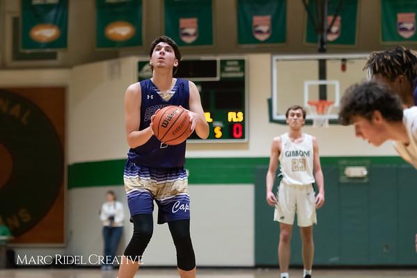 Broughton boys varsity basketball vs Cardinal Gibbons. January 11, 2019. 750_2465