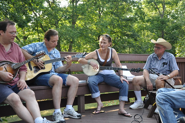 Folk Club Campouts through the Years