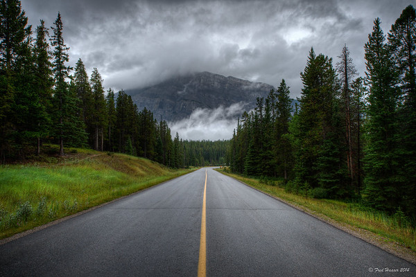 2014-08-22 Tunnel Mountain Road