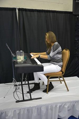 Jacqueline Cako on the Piano
