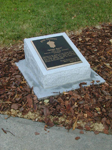 Marshall Park in Charlotte, North Carolina  - Honoring 87th Infantry Division