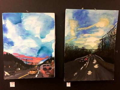 WCHS - AP Art Show Featuring  Busby,  Cox &  Gilham