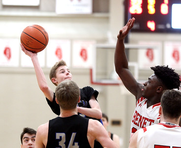 St. Charles North boys basketball vs. Benet