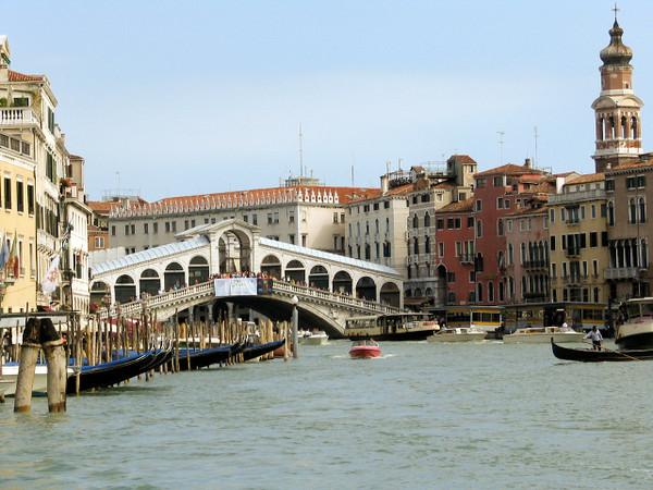 """Rialto Bridge""-Venice, Italy."