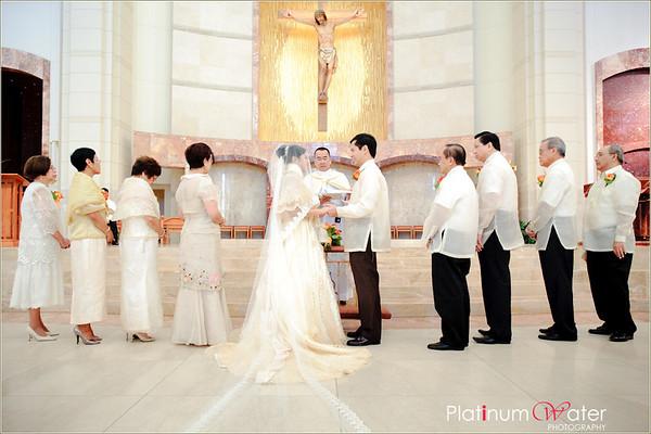 Wedding at Sacred Heart Houston