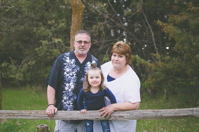 Papa, Gigi, and Harper