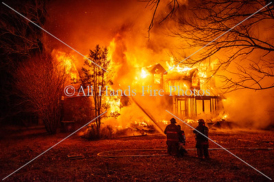 20210211 - Unincorporated Mount Juliet - House Fire