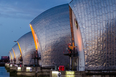 London - the Thames Barrier