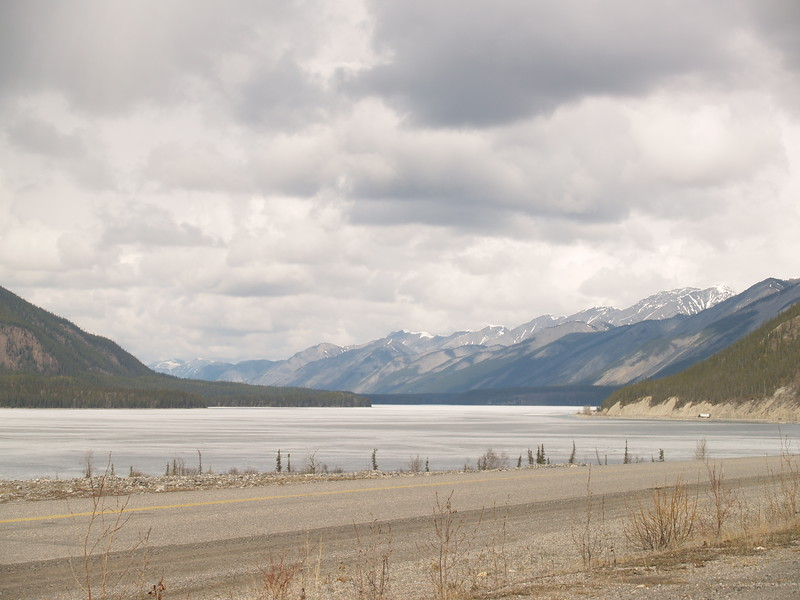 Another view of Muncho Lake.