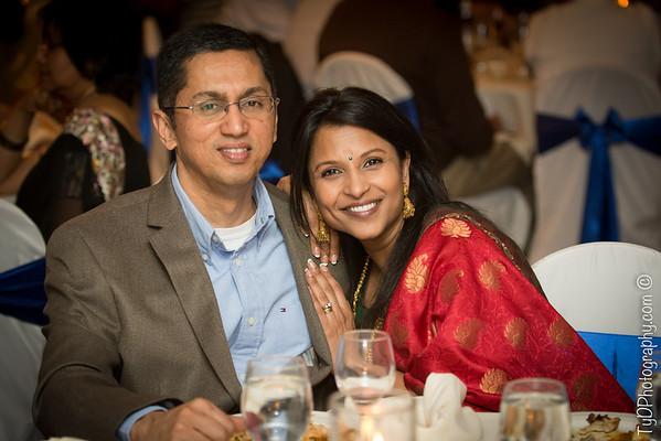 Radha and family