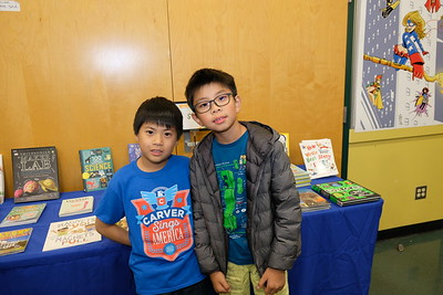 Families Frolic at Carver Book Fair
