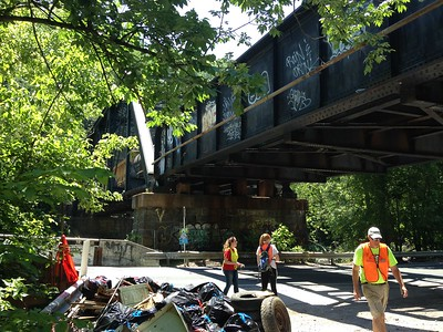 6.10.2017 Ilchester Road/River Road Cleanup