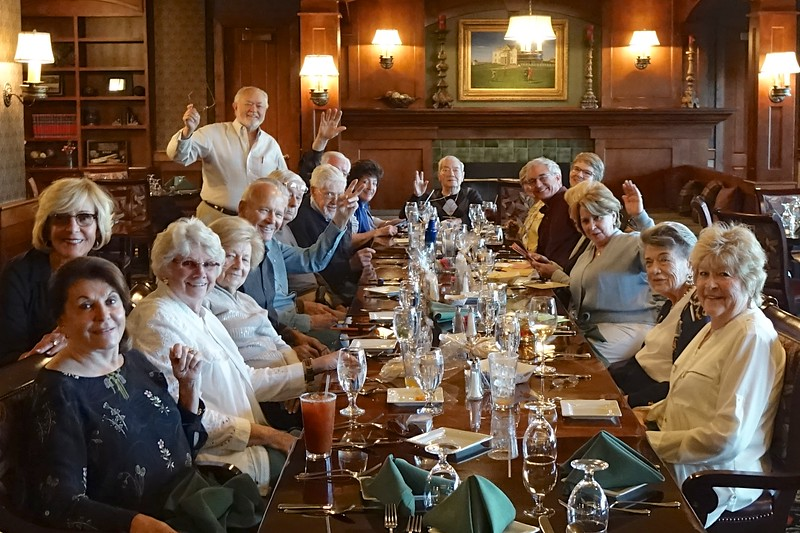 Great Friends and a Wonderful Celebration!  Thank you all! :-)  Photo by David Isaak.