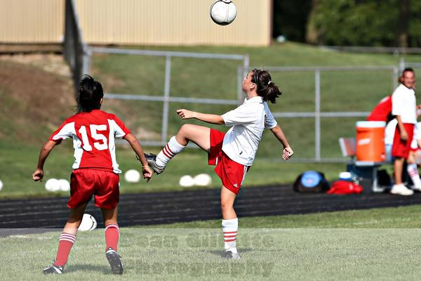 Girls JV Soccer v Memorial