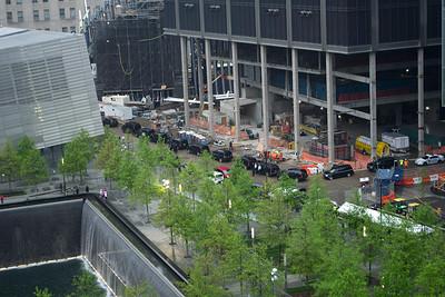President Obama's visit to WTC