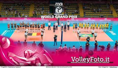 BRASILE - BELGIO | FIVB World Grand Prix 2015
