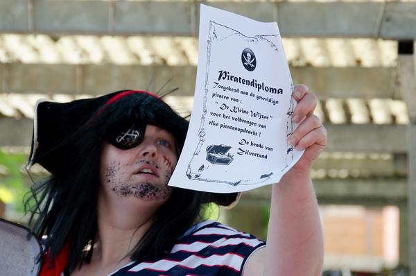 groep 2, 3a, 3b, 4: piratenschattenjacht