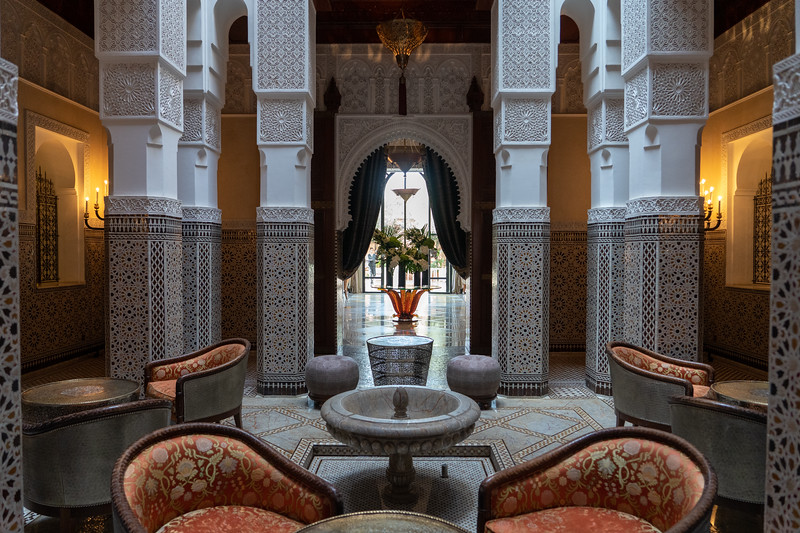 Royal Mansour in Marrakech, Morocco