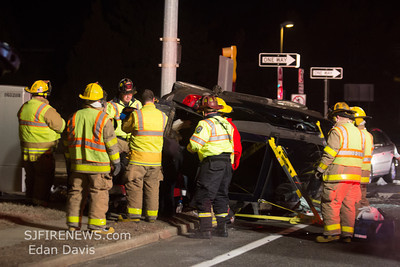 02-07-2014, MVC with Entrapment, Millville City, N. 2nd St. and Rt. 55 South