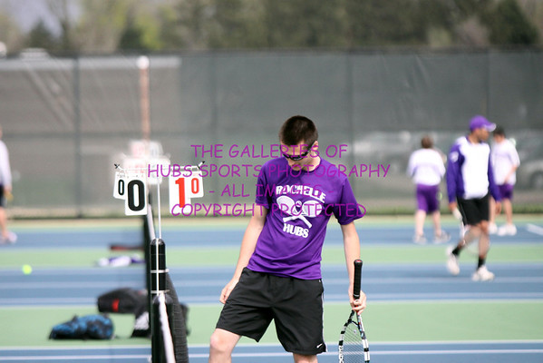 2013 RTHS BOYS TENNIS vs MENDOTA