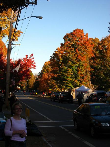 Ashfield, MA Fall Festival. I lived in Ashfield until I was 12 years old.