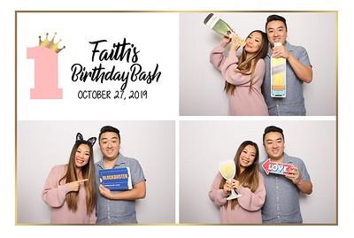 Faith's 1st Birthday Bash