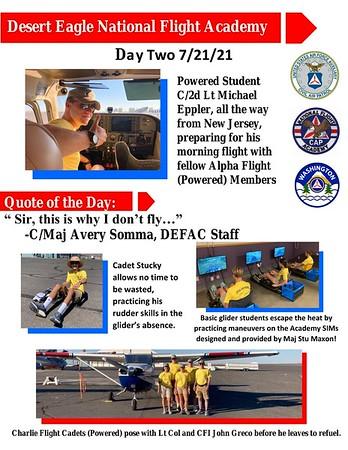 Desert Eagle Flight Academy Day 2