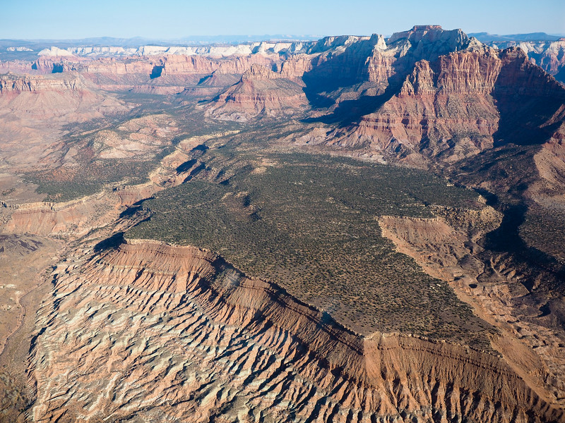 Helicopter tour with Zion Helicopters