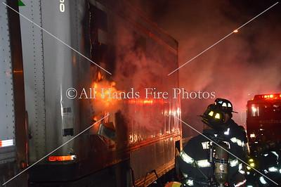 20130826 - Westbury - Truck Fire