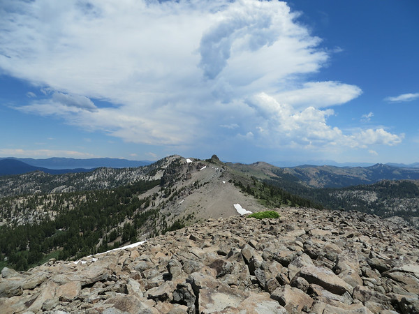 GRANITE CHIEF/LYON PEAK: JULY 1, 2014