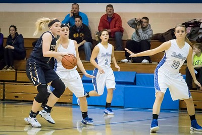DHS Girls Basketball 01-26-17
