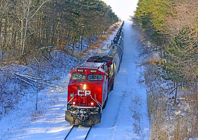 Canadian Pacific 650, Lacolle, Quebec, December 19 2019.