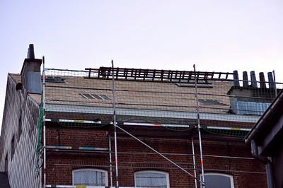 Jour 3 - le toit à l'arrière