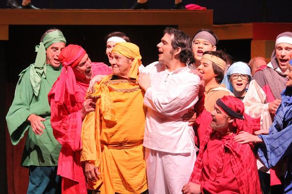 Joseph, Pentangle Show