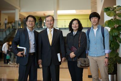 Rev. Lee & Pastor Chung