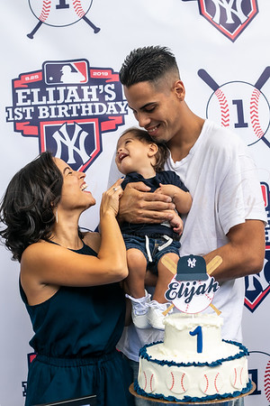 Elijah's 1st Birthday