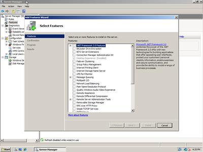Server 2008 Screenshots