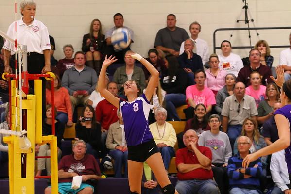 Volleyball vs. Delton - KCHS - 10/13/16