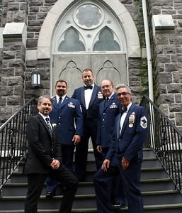 Air Force Marries Marine